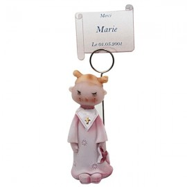 Communion  fille figurine