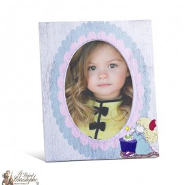 Communion photo frame girl with customizable first name