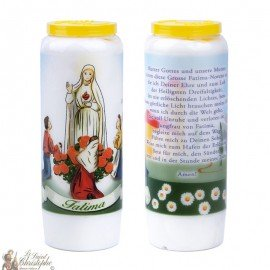 Fatima Novena Candles - 20 pieces