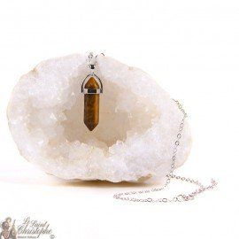 Pendant - Tiger eye stone necklace