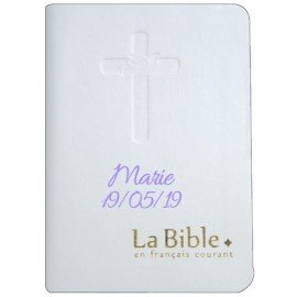 Bible in everyday English customizable first name for communion