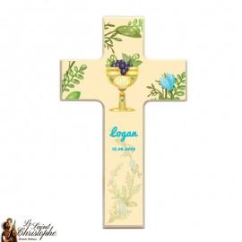 Houten kruis voor aanpasbare communie
