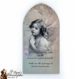 Cadre Ange décoration murale pour fille