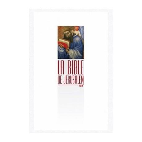 Bible de Jérusalem - poche brochée