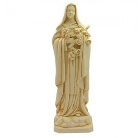 Statue at the Saint Therese of Lisieux Marble powder