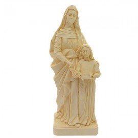 Statue at Holy Anna Marble Powder 22 cm