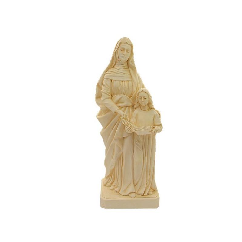 Polvere Di Marmo.Statua A Santa Anna Polvere Di Marmo