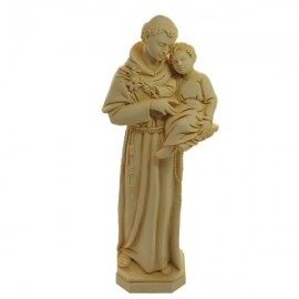 Statue to St. Anthony Marble Powder 22 cm