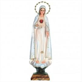 Standbeeld Fatima Heilig Hart van Maria - 67 cm