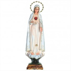Statua Fatima Sacro Cuore di Maria - 67 cm