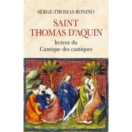 Saint Thomas d'Aquin, lecteur du Cantique des Cantiques - livre