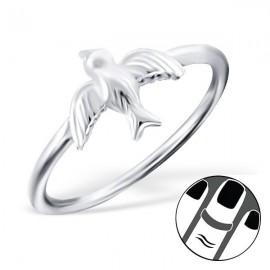 Schluckring - Silber 925er Silber