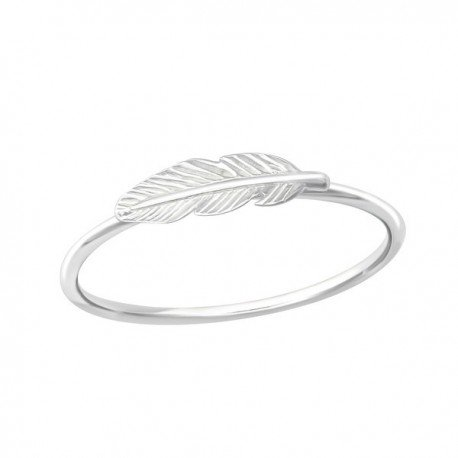 Feather ring - Argent 925