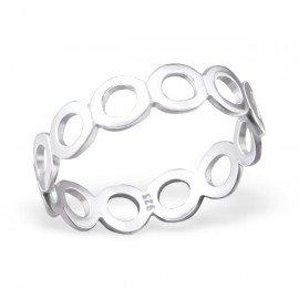 Cirkelring - Zilver 925