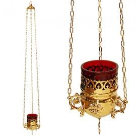 Lámpara de cobre griega - lámpara de pared