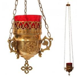 Lámpara de cobre griego antiguo - mural