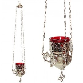 Lámpara de plata griega - lámpara de pared