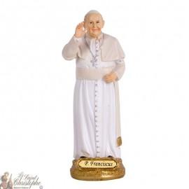 Statua di Papa Francesco - Statua 14 cm