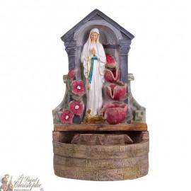 Fontaine Apparition de la Vierge des Pauvres Banneux N.D