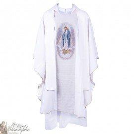 Casulla con Estola Escapular Tapiz Milagroso de la Virgen
