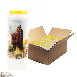 Novena candles in Saint Peter - 20 pieces