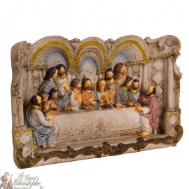 Arch-shaped frame of the last supper