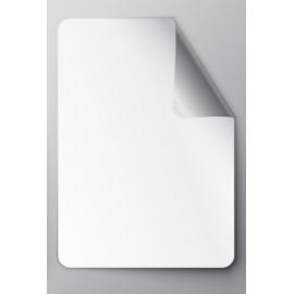 Stickers personnalisables Vinyle Blanc - 3 x 5 cm