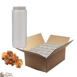 Novena candles perfumed with myrrh - box of 20 pieces