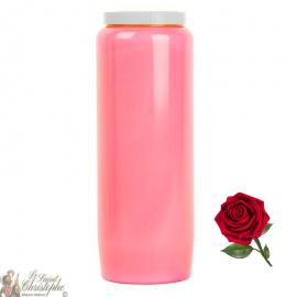 Novena candle - Pink - Roses perfume