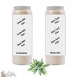 Bougie de neuvaine parfum Sauge - personnalisable