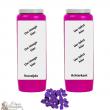 Violet fragrance novena candle - customizable
