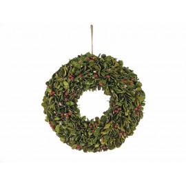 Kerstkrans met decoratieve bessen - 42 cm