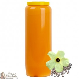Orange novena candle - Musk fragrance