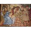 Krippenteppich - Weihnachtskrippe - 140 x 110 cm