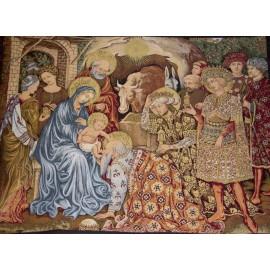 Tapiz de Navidad - Pesebre de Navidad - 140 x 110 cm