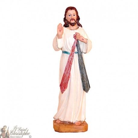 Statue of Merciful Jesus Christ - 20 cm