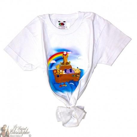 Children's T-Shirt - Noah's Ark white