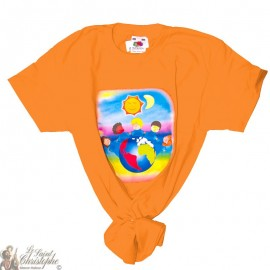 Children's T-Shirt - World orange