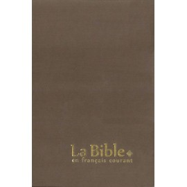 Bible in fluent French, big character