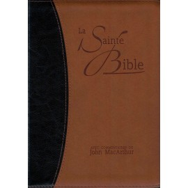 The Holy Bible with commentary by John MacArthur