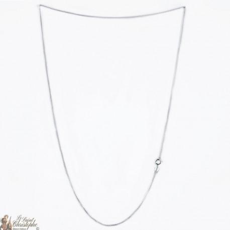 Chaîne - argent 925 - 60 cm