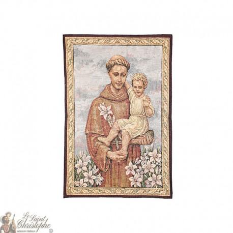 Wandteppich des Heiligen Antonius - 69 x 46 cm
