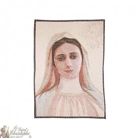 Wandteppich der Muttergottes von Medjugorje - 50 x 70 cm