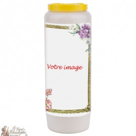 Novena candle for the deceased - customizable