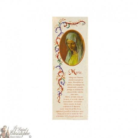 Marque-page Vierge des Pauvres de Banneux - Lot 100 pièces