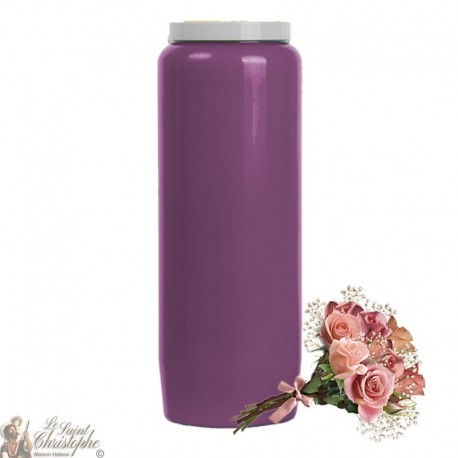 Scented Novena Candles Flower Bouquet