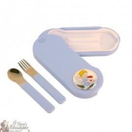 Baby cutlery set blue - 3