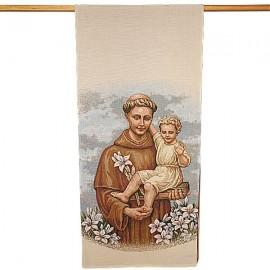Wandteppich-Banner des Heiligen Antonius - 58 x 124 cm