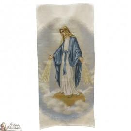 Wandteppich-Banner der Wundertätigen Jungfrau Maria - 58 x 124 cm