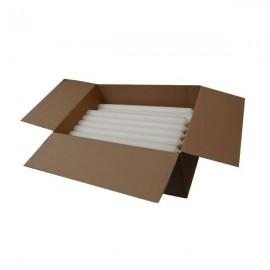 Velas largas blancas - juego de 240 piezas